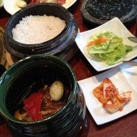 Photo taken at 韓の健食 by Keiko on 2/26/2012