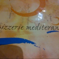 Photo taken at Pizzerie Mediterane by the A. on 8/6/2012