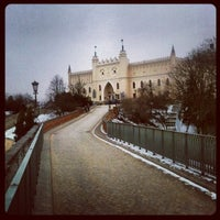 Photo taken at Plac Zamkowy by Michal O. on 2/28/2012
