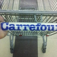 Photo taken at Carrefour by Sergio B. on 5/5/2012