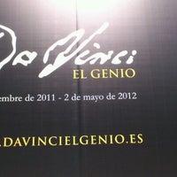 Photo taken at Exposición Da Vinci by Araceli P. on 3/26/2012
