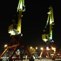 Photo taken at Puerto Madero by Alex G. on 8/31/2012