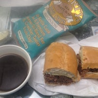 Photo taken at Tina's Deli by Roger M. on 8/24/2012