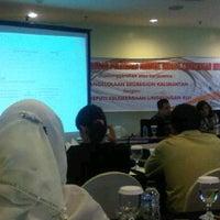 Photo taken at Park Hotel lt I rg Auditorium by Suriansyah on 5/10/2012
