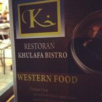 Photo taken at Restoran Khulafa Bistro by zuel o. on 7/22/2012