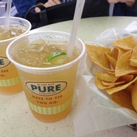 Photo taken at Pure Taqueria by Sam B. on 7/21/2012