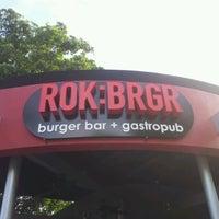 Photo taken at ROK:BRGR by @SoFLBrgOverload on 8/14/2012