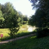 Photo taken at Brilschanspark by Luc D. on 7/24/2012