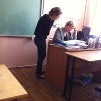 Photo taken at Гимназия №406 by Anna D. on 5/25/2012