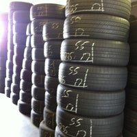 Photo taken at Used Tire World by Teresa E. on 6/4/2012