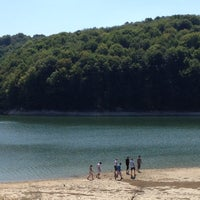 Photo taken at Garaško jezero by Srdjan on 8/19/2012
