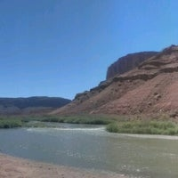 Photo taken at Moab Brewery by Luke J. on 6/20/2012