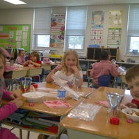 Photo taken at Tracey's Elementary School by Stephanie P. on 2/14/2012