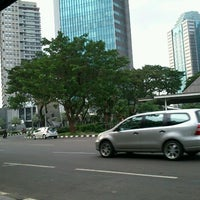 Photo taken at Bus Shelter SCBD by ★Melanie ★. on 3/30/2012