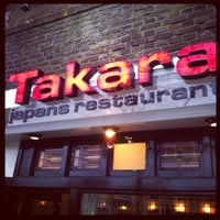 Photo taken at Takara by riboch on 4/4/2012