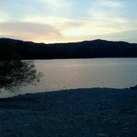 Photo taken at Lago di Suviana by Priscilla on 8/22/2012