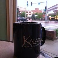 Photo taken at Kaladi's Coffee Legend & Bistro by Ben H. on 5/24/2012