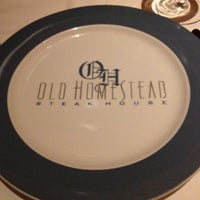 Photo taken at Old Homestead Steakhouse by Alexander Christopher H. on 7/30/2012