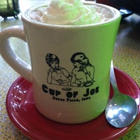 Photo taken at Cup of Joe by Gina G. on 4/28/2012