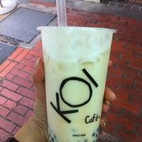 Photo taken at KOI Café by cola h. on 5/10/2012
