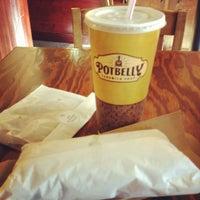 Photo taken at Potbelly Sandwich Shop by Chris P. on 5/30/2012