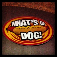 Photo taken at What's Up Dog? by William R. on 2/12/2012