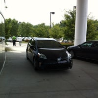 Photo taken at Fred Anderson Toyota by Seth V. on 6/23/2012