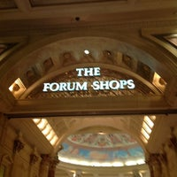 Photo taken at The Forum Shops at Caesars by Andrey V. on 4/22/2012