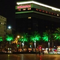 Photo taken at Mövenpick Hotel Izmir by Giorgia Nina Z. on 8/14/2012