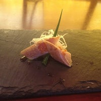 Photo taken at Umi Sushi Bar & Grill by Rebecca A. on 4/26/2012