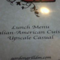 Photo taken at The Garden Grill by Janell B. on 6/18/2012