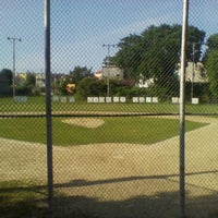 Photo taken at North End Little League Field by Maria S. on 6/11/2012