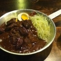 Photo taken at <閉店> Sloppy Joe's Curry by mumeishi on 3/25/2012