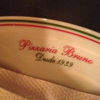 Photo taken at Pizzaria Bruno by Catia H. on 6/23/2012