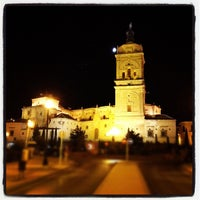 Photo taken at Catedral de Guadix by Javier F. on 8/24/2012