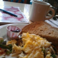 Photo taken at Blue Sky Café by Gina C. on 3/21/2012