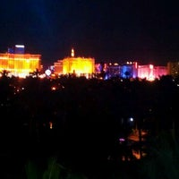 Photo taken at Casino Tower at Hard Rock Hotel & Casino by Eileen 🙈🙉🙊 L. on 6/12/2012
