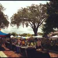 Photo taken at Winter Garden Farmer's Market by Dani O. B. on 8/25/2012