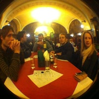Photo taken at Cafe Evropa by Martin K. on 2/7/2012
