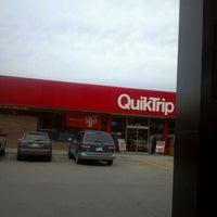 Photo taken at QuikTrip by Ryan D. on 3/2/2012