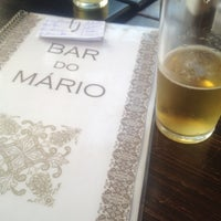 Photo taken at Bar do Mario by Claudia S. on 5/5/2012