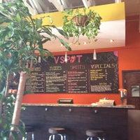 Photo taken at VSPOT Vegan Cafe by Barbara on 6/13/2012