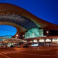 Photo taken at Sheremetyevo International Airport (SVO) by Alehandra on 9/10/2012