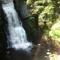 Photo taken at Bushkill Falls by Shiella C. on 5/28/2012