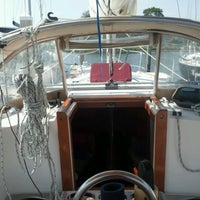 Photo taken at Sailing Vessel Miss Adventure by Andrew M. on 8/3/2012