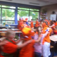 Photo taken at Jozefschool by Peggy S. on 6/13/2012