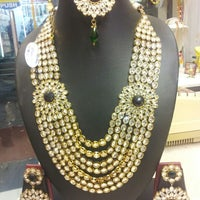 Photo taken at Omkari Fashion Jewellery by vinayak on 8/16/2012