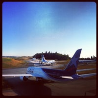 Photo taken at Future of Flight Aviation Center & Boeing Tour by Jonathan I. on 9/1/2012