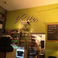 Photo taken at Rita by Vittoria B. on 4/16/2012