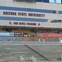 Photo taken at Sun Devil Stadium by Dan T. on 3/31/2012